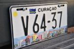 Curaçao - License Plate © Bea Knipstein